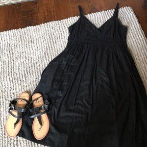Vince black dress